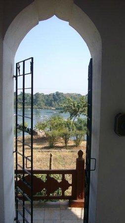 Bundelkhand Riverside: vue de la chambre