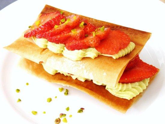 Prao : Le mille feuille aux fraises, tant qu'il y en a