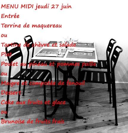 Prao : Un menu du jour