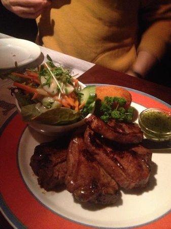 Tony's Lord Nelson Restaurant: lamb chop