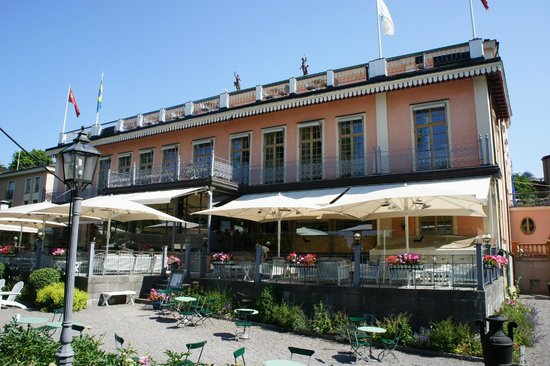 Scandic Hasselbacken : hotel terrace