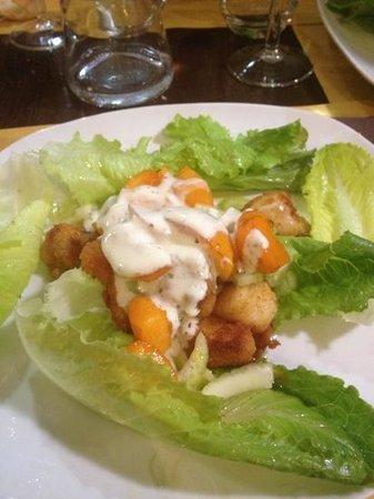 Dausin : bocconcini di pollo con albicocche