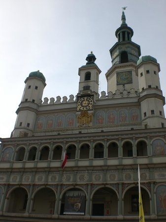 Ratusz Poznański : Rathaus Poznan