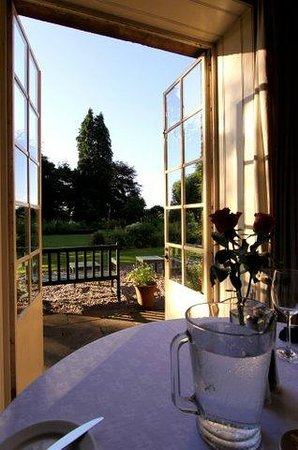 Trigony House Hotel and Garden Spa: View from dining room