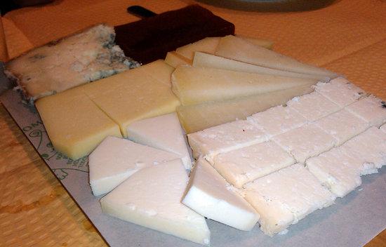 La Sifonería: Tabla de quesos
