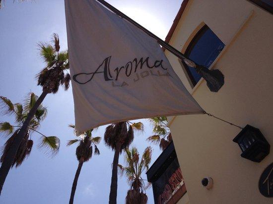 Aroma Bakery and Cafe La Jolla : Aroma Cafe