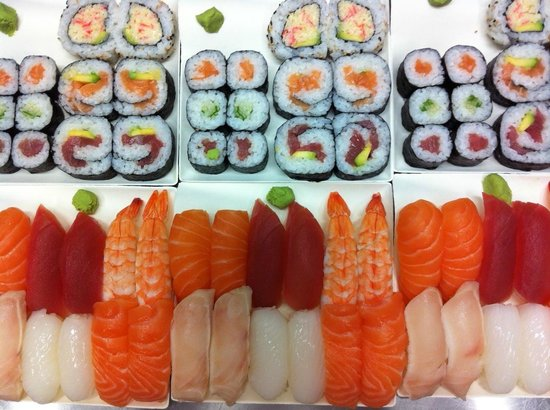 Sosushi Plus: Menu tradizionale