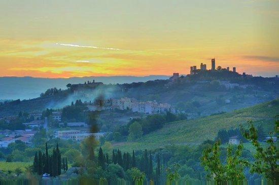 Fattoria di Fugnano: like a painting..