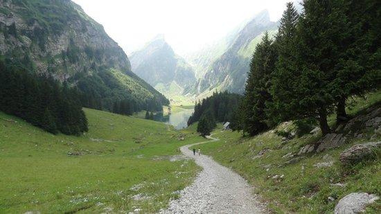 Hotel Appenzell: Seealpsee