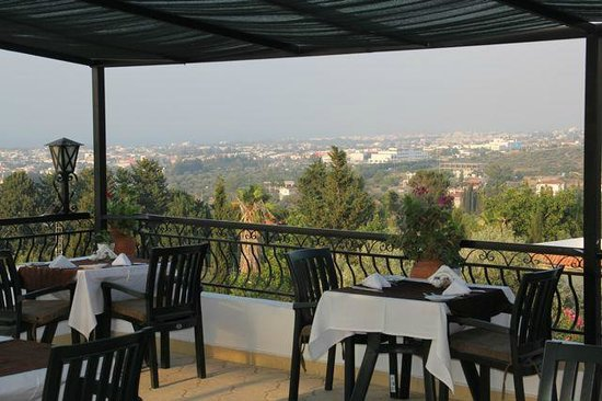 The Hideaway Club Hotel: View from the RoofTop Terrace