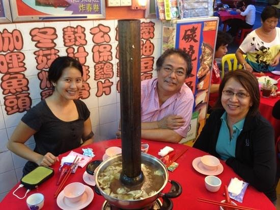 Kwan Kee Seafood Restaurant: The charcoal steamer