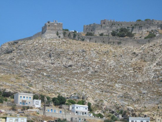 Hotel Elefteria : The castle: not a bad view from my balcony