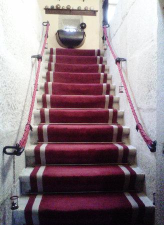 Casa Grande do Bachao: Escalera principal...bellísima
