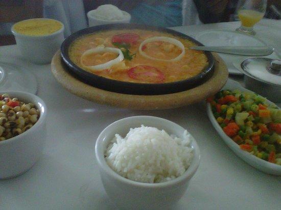 Restaurante Kimukeka : Moqueca de Camarão