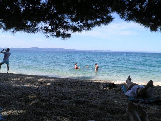 Hotel Laurentum : Local beach