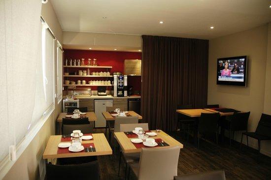 Hotel Lann-Roz : Salle des petits déjeuner