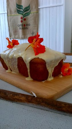 The Coffee Cove: Dairy free citrus drizzle cake