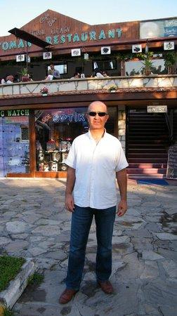 Ottoman Restaurant: The owner Rasim