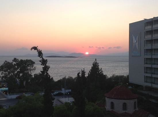 Amarilia Hotel : The sunset that you get every evening !!