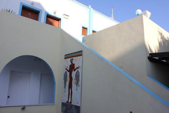 Villa Stella: Les chambres du haut
