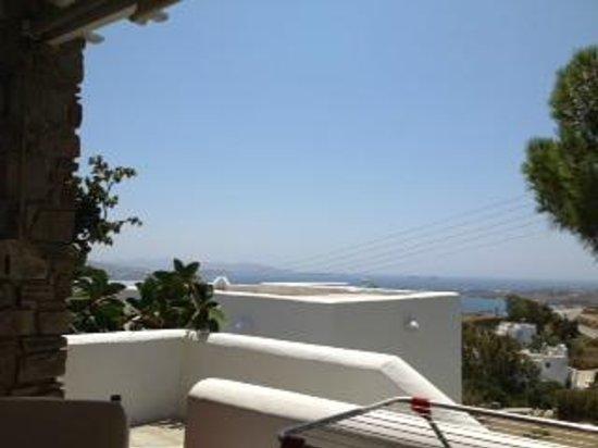 Heliolithos Blue Bay: vue (mieux en vrai)
