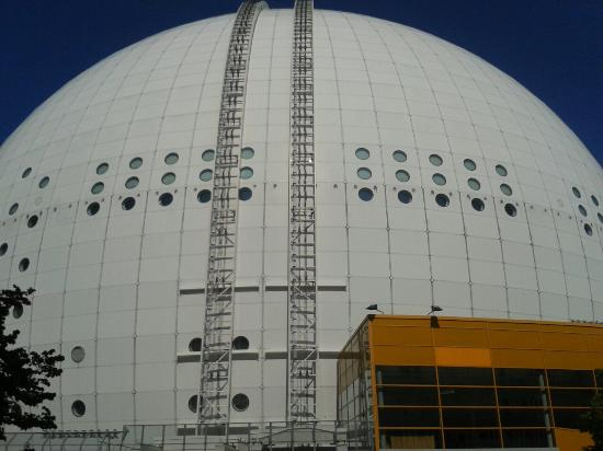 Photo of Stockholm Globe Arena taken with TripAdvisor City Guides