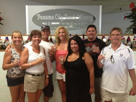 Panama City Beach Winery: Our Indiana Crew