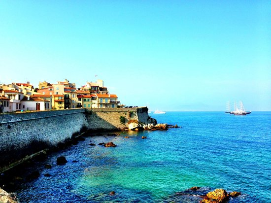 La Place Hotel Antibes : A sample of some of the natural beauty that surrounds this beautiful part of the world