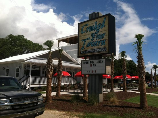 Crooked Floor Tavern Rooftop Dining Murrells Inlet