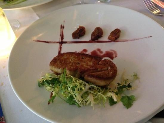 Graves Restaurant - Wijnbar : pan fried foi gras & figs
