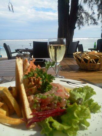 La Varangue du Lagon Chez Denis: le tartare de thon !!!