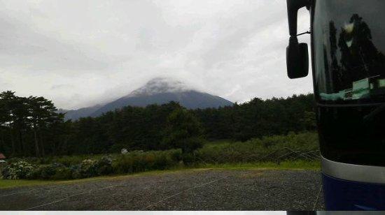 Mt. Daisen: 雨上がりです。