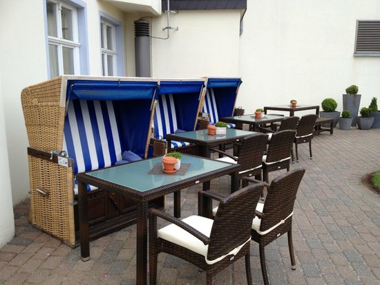 Lindner Strand Hotel Windrose: wind seats