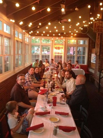 Cheers Grille & Bar : Rehearsal Dinner at Cheers. They did such a good job.