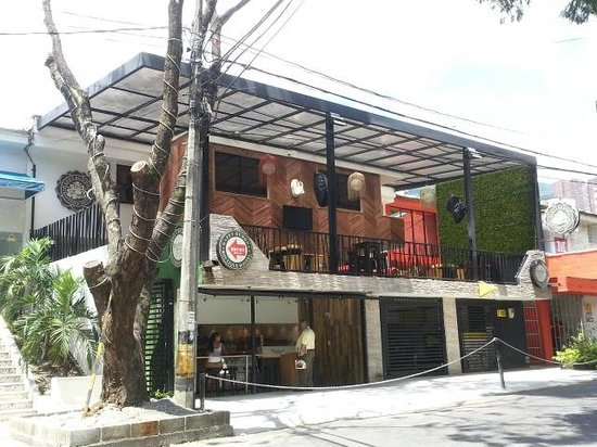 Happy Buddha Boutique Hostel: OPEN AIR TERRACE