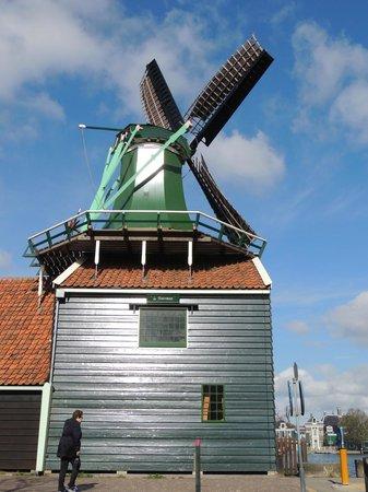 Zaanse Schans: Windmill