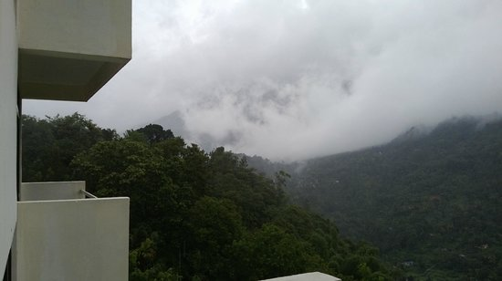 The Edge Munnar: from balcony of room