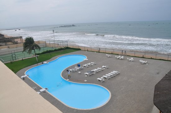 piscine picture of azalai hotel de la plage cotonou. Black Bedroom Furniture Sets. Home Design Ideas