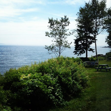 Beloin's on the Maine Coast: View from inside #27