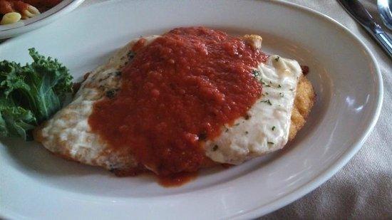 Mario's Restaurant: Chicken Parm Perfection