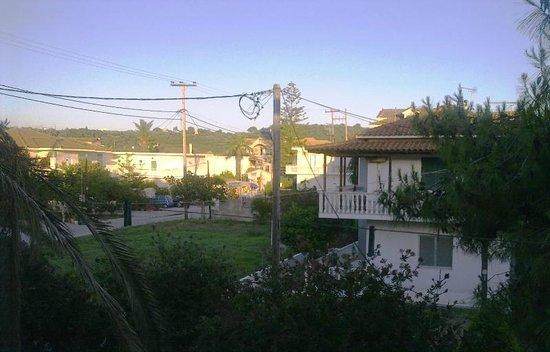 View from the balcony, Rania Studios Room 9, May-June 2013