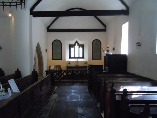 St. Michael's Old Church: so peaceful inside