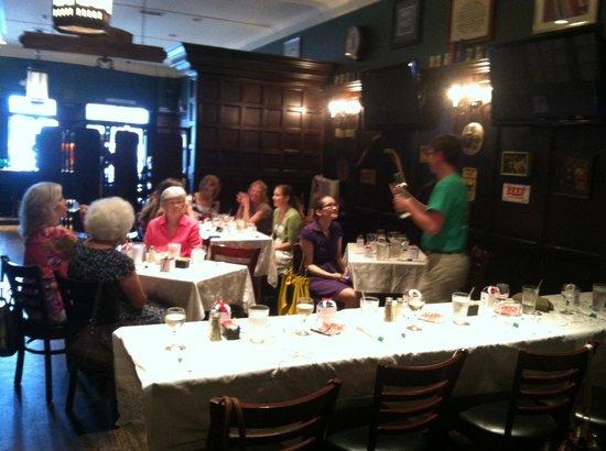 Irish Bred Pub: The private room
