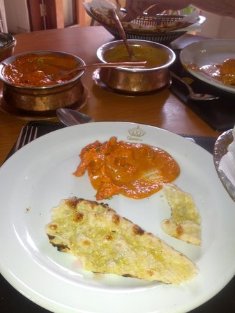 Queen's Tandoor: best butter chicken