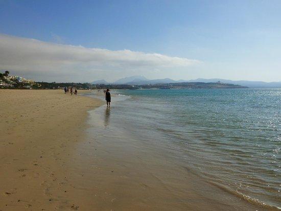 SBH Costa Calma Palace : la plage devant l'hôtel