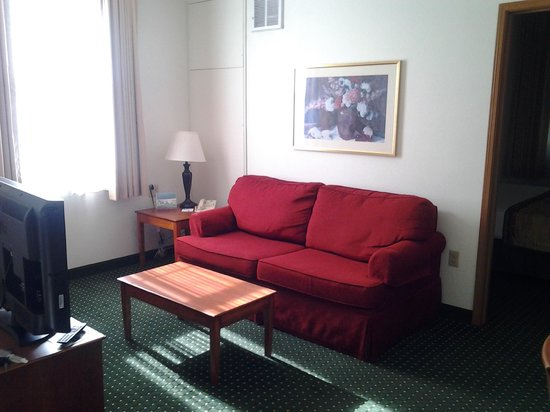 TownePlace Suites San Jose Cupertino: Living room area