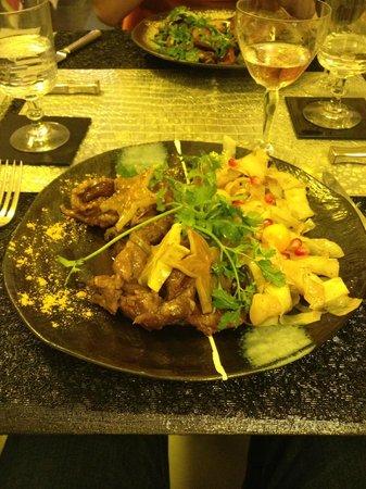 La Cuisine du Dimanche : the first course - 2