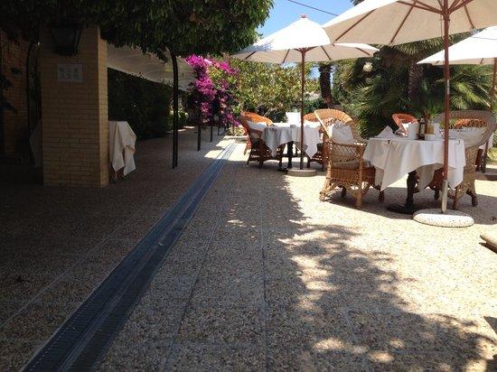 La Moraleja Hotel: Terras