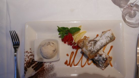 Le Cantorbery: Dessert