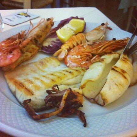 Ristorante Pizzeria La Palma: grigliata mista